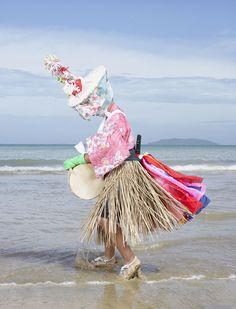 Juxtapoz Magazine - Japan's Ritual Ghosts, Monsters, Ogres and Goblins Manado, Charles Freger, Magazine Japan, Festival Costumes, Winter Festival, Traditional Fashion, Fashion Images, Fashion Art, Folk Costume
