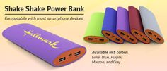 Shake Shake Power Bank Mobile Charger