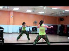 Walk It Out Merengue Remix, Zumba Choreography