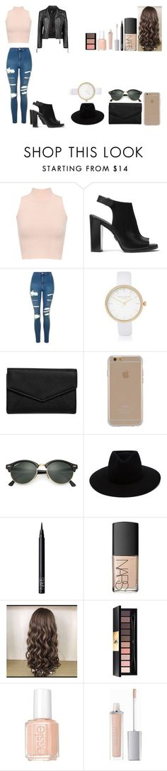 """""""Untitled #545"""" by kalieh092 on Polyvore featuring WearAll, Michael Kors, Topshop, River Island, LULUS, Agent 18, Ray-Ban, rag & bone, NARS Cosmetics and Yves Saint Laurent"""