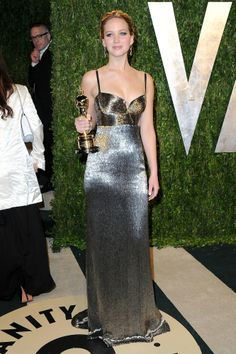 Jennifer Lawrence in Calvin Klein, 2013
