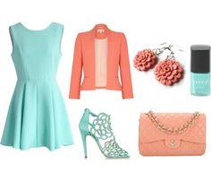 V jemných pastelových farbách budete pôsobiť nežne a príjemne. Outfit od Šperky Salina & Natalyss