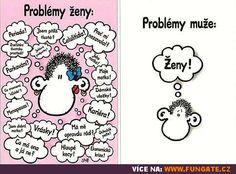 Rozdíl mezi muži a ženami #21 Jokes, Lol, Humor, Comics, Luxury, Funny, Husky Jokes, Humour, Memes
