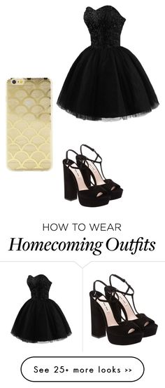 """Untitled #621"" by laylahnisoutfits on Polyvore featuring Miu Miu and Sonix"