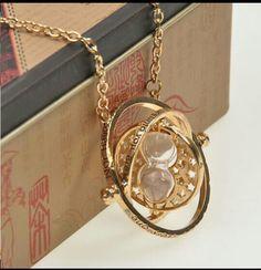Time turner necklace!!