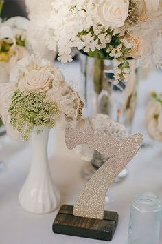 bouquet ideas for weddings details about self standing glitter table numbers wedding 2028