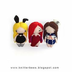 knitterbees: Pin up girls collection