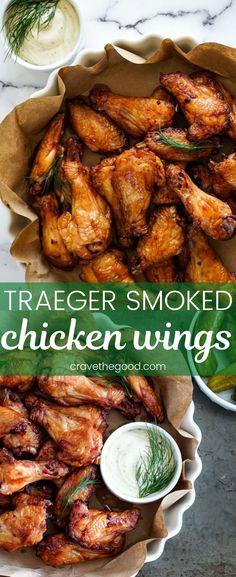 Have your pickle & eat it too! Try these dill pickle smoked chicken wings - big on flavour, majorly crispy, & totally delicious. Smoked Chicken Wings, Grilled Chicken Wings, Keto Chicken, Traeger Recipes, Grilling Recipes, Smoker Recipes, Easy Chicken Wing Recipes, Traeger Chicken Wing Recipe, Smoked Chicken Recipes