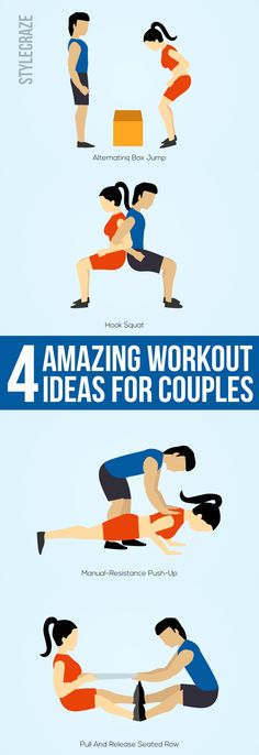 Is getting fit on top of your and your partner's priority list? Do you wish to make the monotonous gym routine more romantic? Well, if you can ...