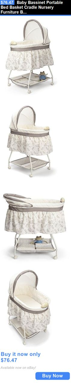 Awesome Baby Nursery Portable Baby Bassinet Cradle Infant Rocking Sleeper Pink Nursery Crib Girls BUY IT NOW ONLY $65 99 priceabateBabyNursery OR price… Review - Review portable baby sleeper Amazing