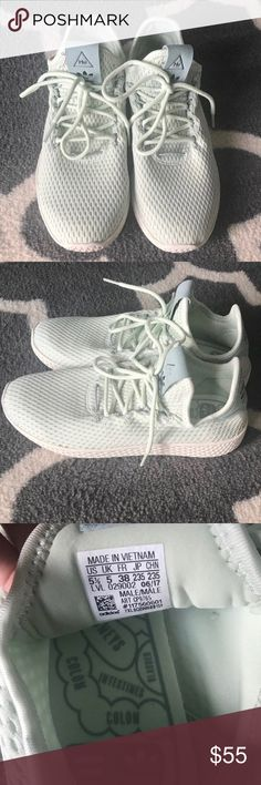 save off ea9bd eebe1 Adidas Pharrell Williams Tennis Shoe A collaboration between Adidas  Originals and Pharrell Williams, these women s