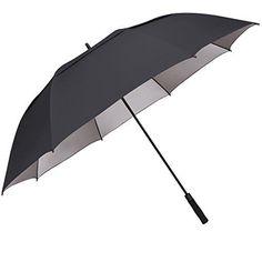 G4Free 68 inch UV Sun Protection Automatic Open Golf umbrella Double Canopy Vented Windproof Waterproof Large Oversize Stick Umbrellas for men women #golfumbrella
