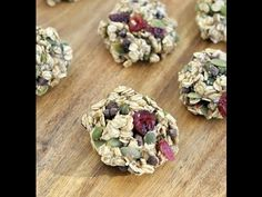 Healthy Trail Mix Cookies - My Whole Food Life