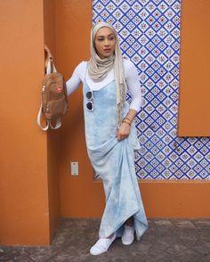 The Samaras Modest Dresses, Modest Outfits, Modest Fashion, Hijab Fashion, Muslim Women Fashion, Islamic Fashion, Turban Outfit, Street Hijab, Casual Hijab Outfit