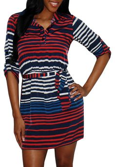 Love this dress! Casual chic!