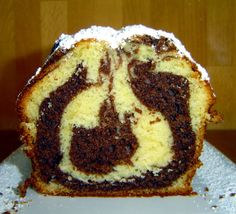 Recipe for a quick and easy orange marble cake. If you have all the ingredients - Superschnelle Kuchen - Pecan Recipes Pecan Recipes, Easy Cake Recipes, Sweet Recipes, Desserts Végétaliens, German Baking, Gateaux Cake, Sweet Bakery, Low Calorie Snacks, Marble Cake