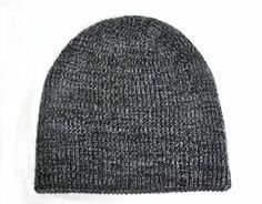 Fisherman Rib Beanie Black Grey Mixed Short Warm Hat    Price: $8.99 & FREE Shipping on orders over $35.