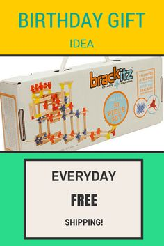 The #Brackitz Creator Set makes a great birthday gift! Just $29.95 and everyday #FREE SHIPPING!