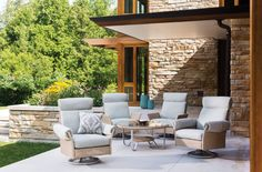 Outdoor Furniture Trends for 2015 >> http://www.hgtvgardens.com/design/18-outdoor-furniture-trends-for-2015?soc=pinterest&s=2
