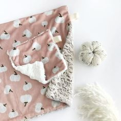 Lovey Blanket, Swaddle Blanket, Baby Blankets, White Pumpkins, Fall Pumpkins, Baby Shower Gifts, Baby Gifts, Baby Presents, Baby Must Haves