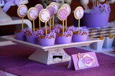 Sofia the First Princess Party via Kara's Party Ideas #PrincessParty #SofiaTheFirst #PartyIdeas (11)