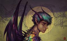 Dragon Boy by vesssel.deviantart.com on @DeviantArt