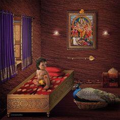 Baby Ganesha, Baby Krishna, Krishna Art, Happy Ganesh Chaturthi Images, Lord Murugan Wallpapers, Shiva Shankar, Lord Shiva Family, Lord Shiva Painting, Pretty Drawings