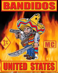 Bandidos Motorcycle Club, Outlaws Motorcycle Club, Motorcycle Quotes, Biker Clubs, Motorcycle Clubs, Nfl Patriots, Rockstar Energy, Hells Angels, Chicano Art