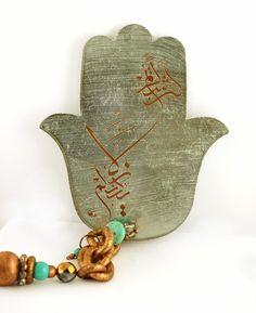 Hamsa khamsa hand of fatima Hand Of Fatima, Eye Stone, Hamsa Hand, Hobbies And Crafts, Evil Eye, Jewelery, Objects, Jewelry Design, Pottery