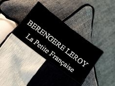 """Bedlinen collection, """"La Petite Française"""", Bérengère Leroy"""