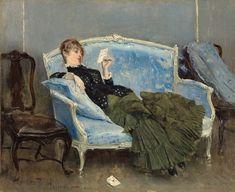 Paul-César Helleu - La Lettre, 1880.