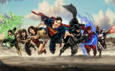 Justice League (DCEU) by zg01man - Visit to grab an amazing super hero shirt now on sale!