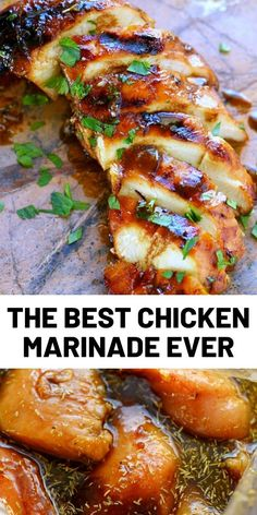 Look no further for the Best Chicken Marinade recipe ever! This easy chicken marinade recipe is going to quickly become your favorite go-to marinade! This marinade produces so much flavor and keeps[. Chicken Marinade Recipes, Chicken Marinades, Easy Chicken Recipes, Gourmet Recipes, Dinner Recipes, Cooking Recipes, Healthy Recipes, Dessert Recipes, Poulet General Tao