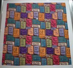 London wall jacqmar propaganda scarf