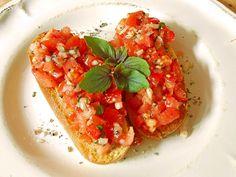 Bruschetta italiana, ein tolles Rezept aus der Kategorie Gemüse. Bewertungen: 757. Durchschnitt: Ø 4,6.