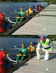 Halloween Row... i have that Buzz Lightyear costume! :)