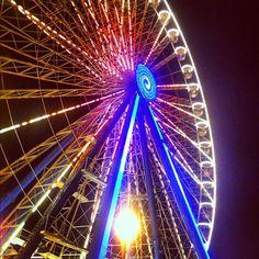 Ferris wheel in Rimini - #molostreetparade by @jeanettekramer