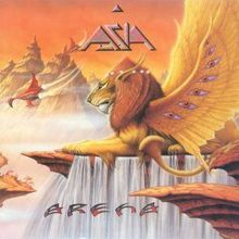 Arena is the sixth studio album by British rock band Asia, released in February 1996 by Bullet Proof Records. Recorded at Electric Palace S. Greatest Album Covers, Iconic Album Covers, Rock Album Covers, Classic Album Covers, Patrick Nagel, Lp Cover, Cover Art, Heavy Metal, Classic Rock Albums