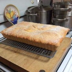 Mum's Old Fashioned Apple Slice - One of my husband's all time favourites. I've been making it for over 30 years and I still love the way his face lights up when I make it. Apple Recipes, Baking Recipes, Sweet Recipes, Cake Recipes, Dessert Recipes, Baking Desserts, Potato Recipes, Yummy Recipes, Keto Recipes