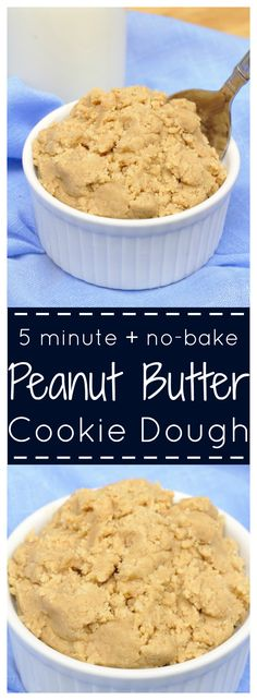 Peanut Butter Cookie Dough – The perfect amount of peanut butter cookie dough for two! Eggless and takes just minutes to make! The perfect amount of peanut butter cookie dough for two! Eggless and takes just minutes to make! Eatible Cookie Dough, Edible Sugar Cookie Dough, Cookie Dough For One, Healthy Cookie Dough, Edible Cookies, Cookie Dough Recipes, Butter Cookies Recipe, Peanut Butter Recipes, Brownies