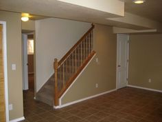 basement stairs ideas pictures | basement stair rail | Basement Ideas