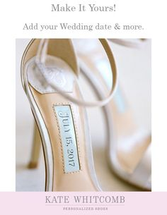 1fdeabda61 Beautiful wedding shoes for every bride •Wedding Shoes •Ivory shoe for bride  •Bridal