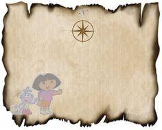Dora the Explorer Party Games - Creative Printables
