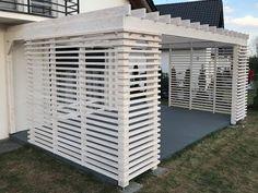 Backyard Garden Design, Backyard Patio, Back Patio, Porch, New Homes, Home And Garden, Building, Outdoor Decor, House