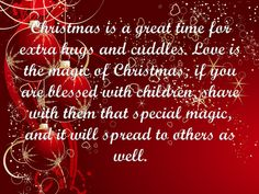 So true, I tell my boy that Christmas is all about the magic you create