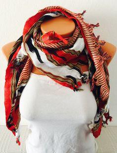 traditional scarf shawl bohemian scarf women by GCbazaar on Etsy