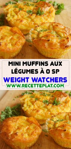 Ww Recipes, Light Recipes, Healthy Recipes, Mini Muffins, Weigth Watchers, Breast Recipe, Weight Watchers Meals, Curry, Brunch