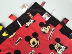 Mickey Mouse Silkie Tag Blanket