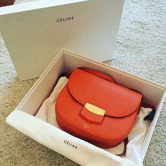 The elegance of Celine handbag. #baglover #handbag #fashion #luxury #celine #celinebag #fabfashionfix