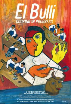 Proyección 6 de Julio. 19:00 Multicines Aribau. https://screen.ly/evento/11/el-bulli-cooking-in-progress-aribau-multicines/